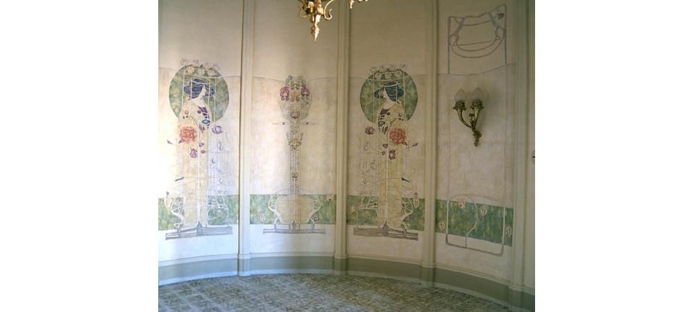 entrance hall, Avda Diagonal 423, 2003