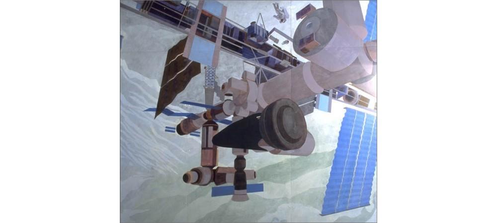 ESA Mural - detail